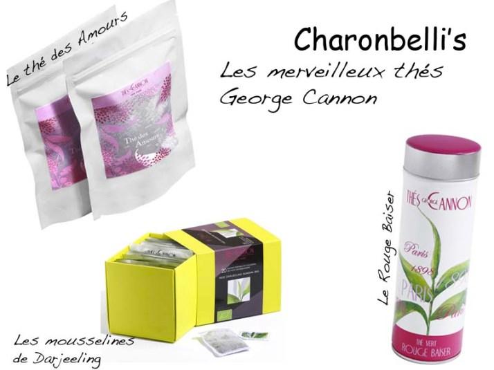 Concours 2 - Les merveilleux thés George Cannon - Charonbelli's blog mode et beauté