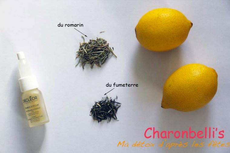 Ma détox d'après les fêtes - Charonbelli's blog beauté