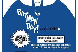 BatmanDay chez Colette - Charonbelli's blog mode