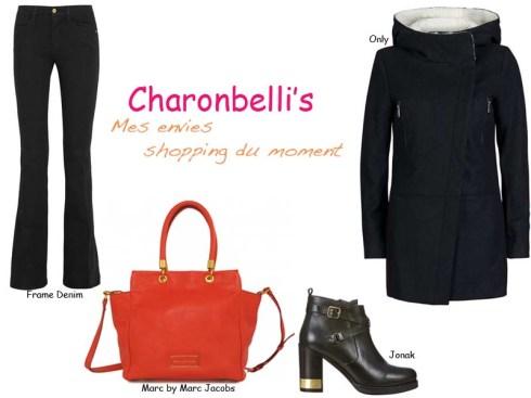Ma sélection shopping du moment - Charonbelli's blog mode