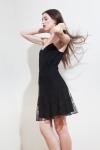 PE2015 Fatima Guerrout - Caraco Nina noire & jupe Jo - Charonbelli's blog mode