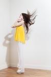PE2015 Fatima Guerrout -Caraco Suny & pantalon blanc - Charonbelli's blog mode