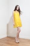PE2015 Fatima Guerrout - Robe Suny jaune - Charonbelli's blog mode