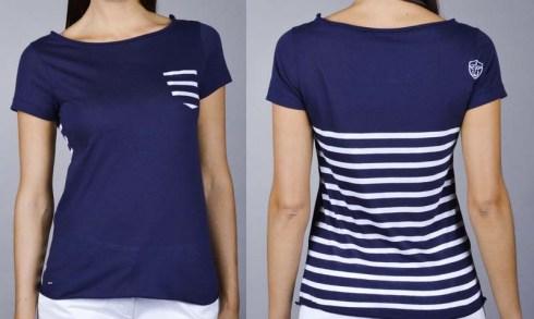 T-Shirt Marin - La nouvelle collection Printemps-Été 2015 pour femmes de chez Eden Park - Charonbelli's blog mode